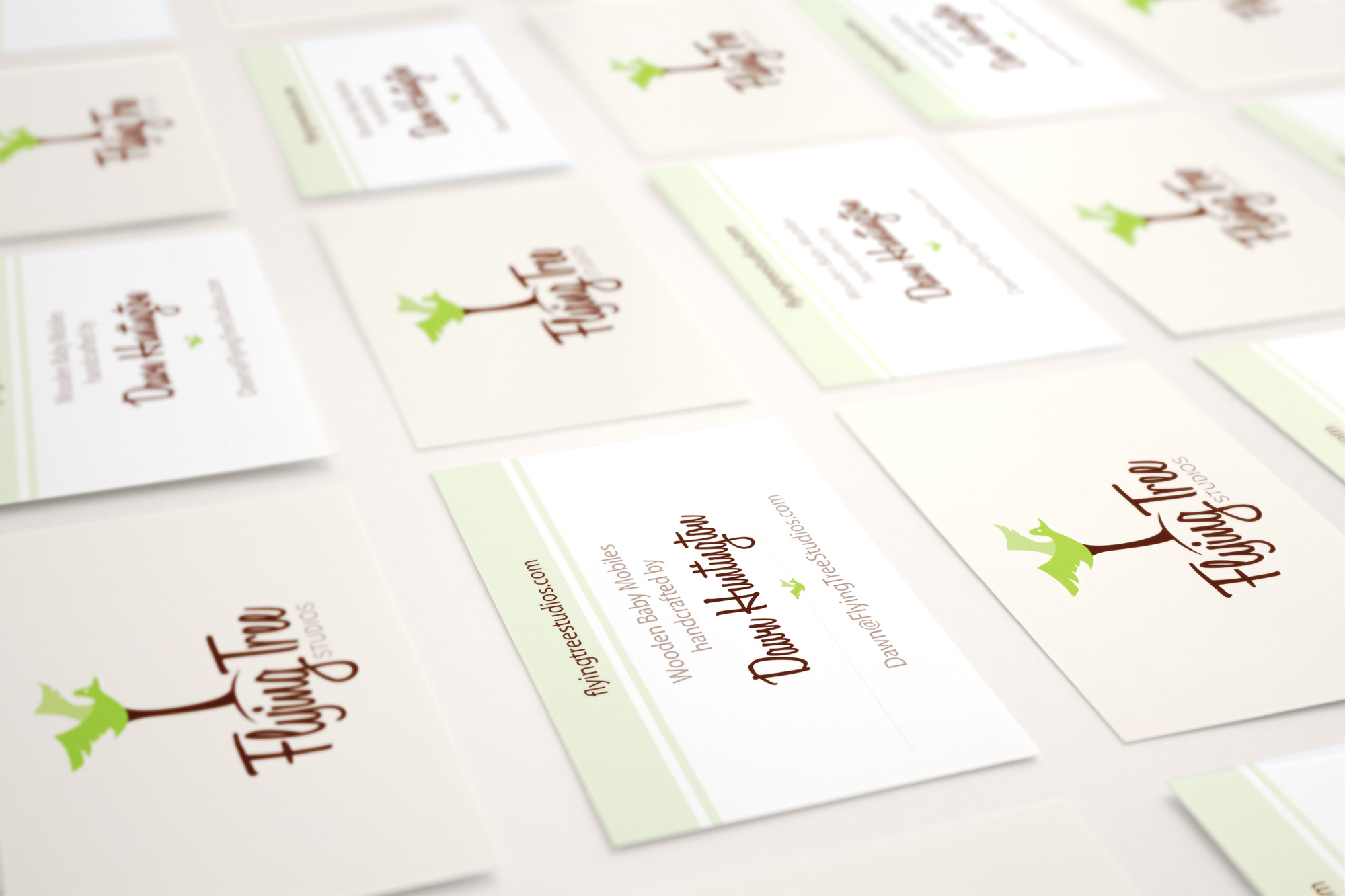 Flying Tree Studios Business Cards