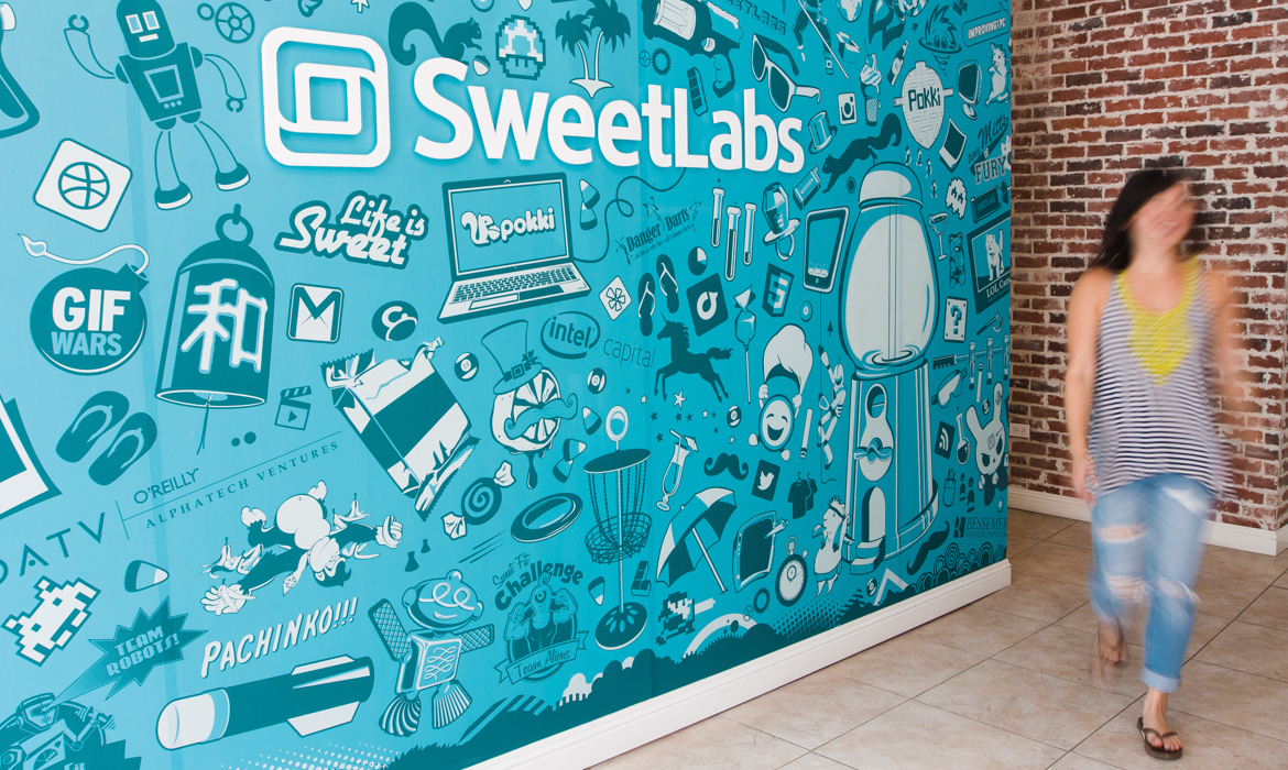 SweetLabs Collage Entrance