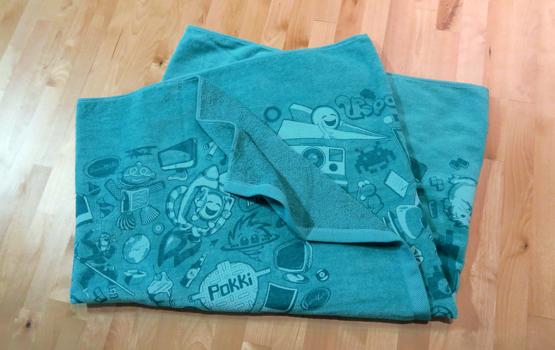 SweetLabs Collage Towel