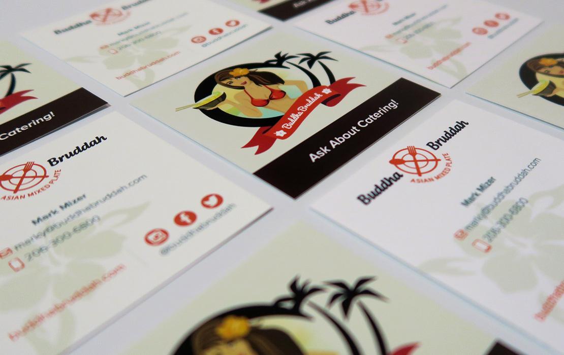 Buddha Bruddah Business Cards