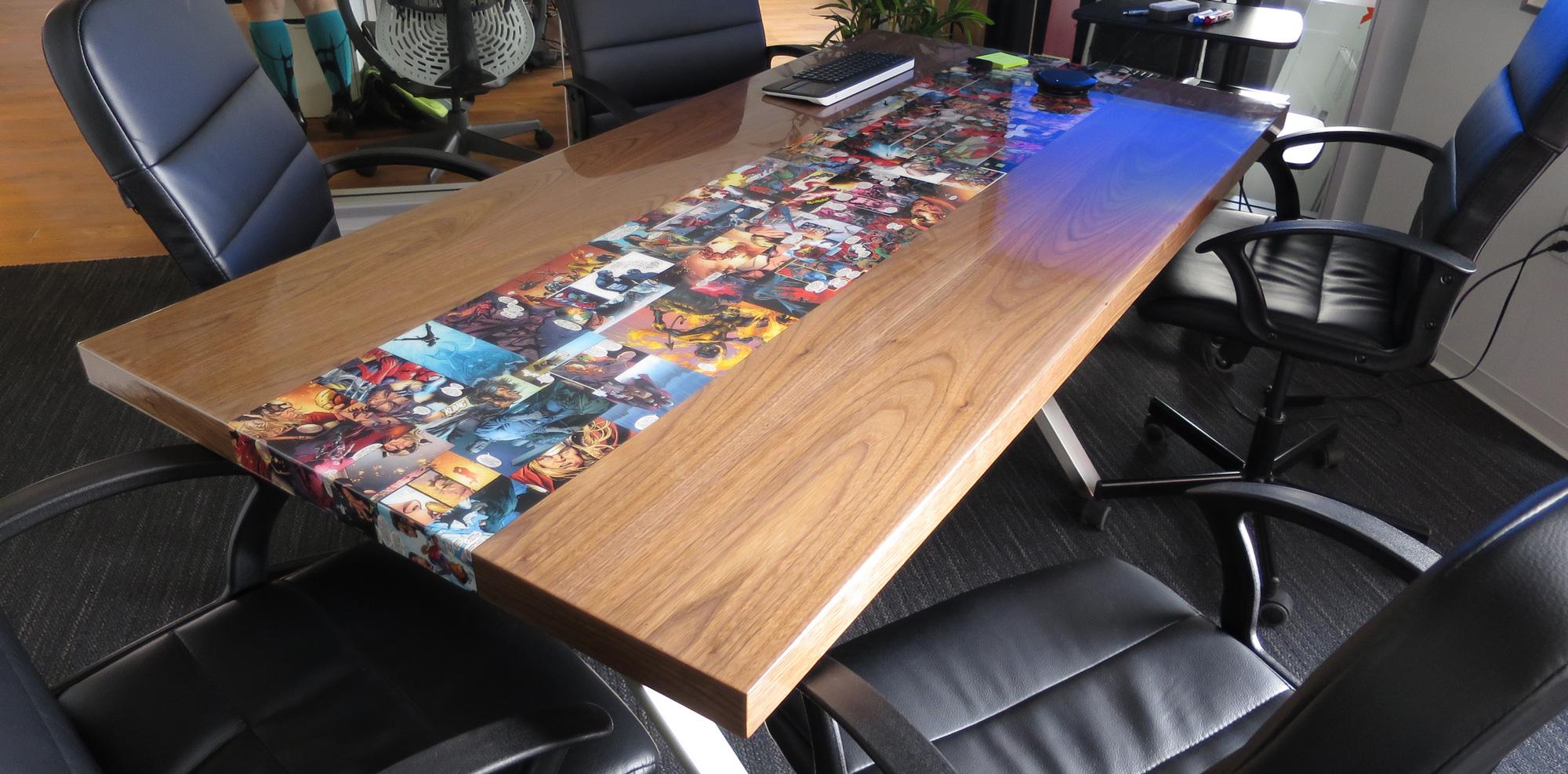 Comic Table