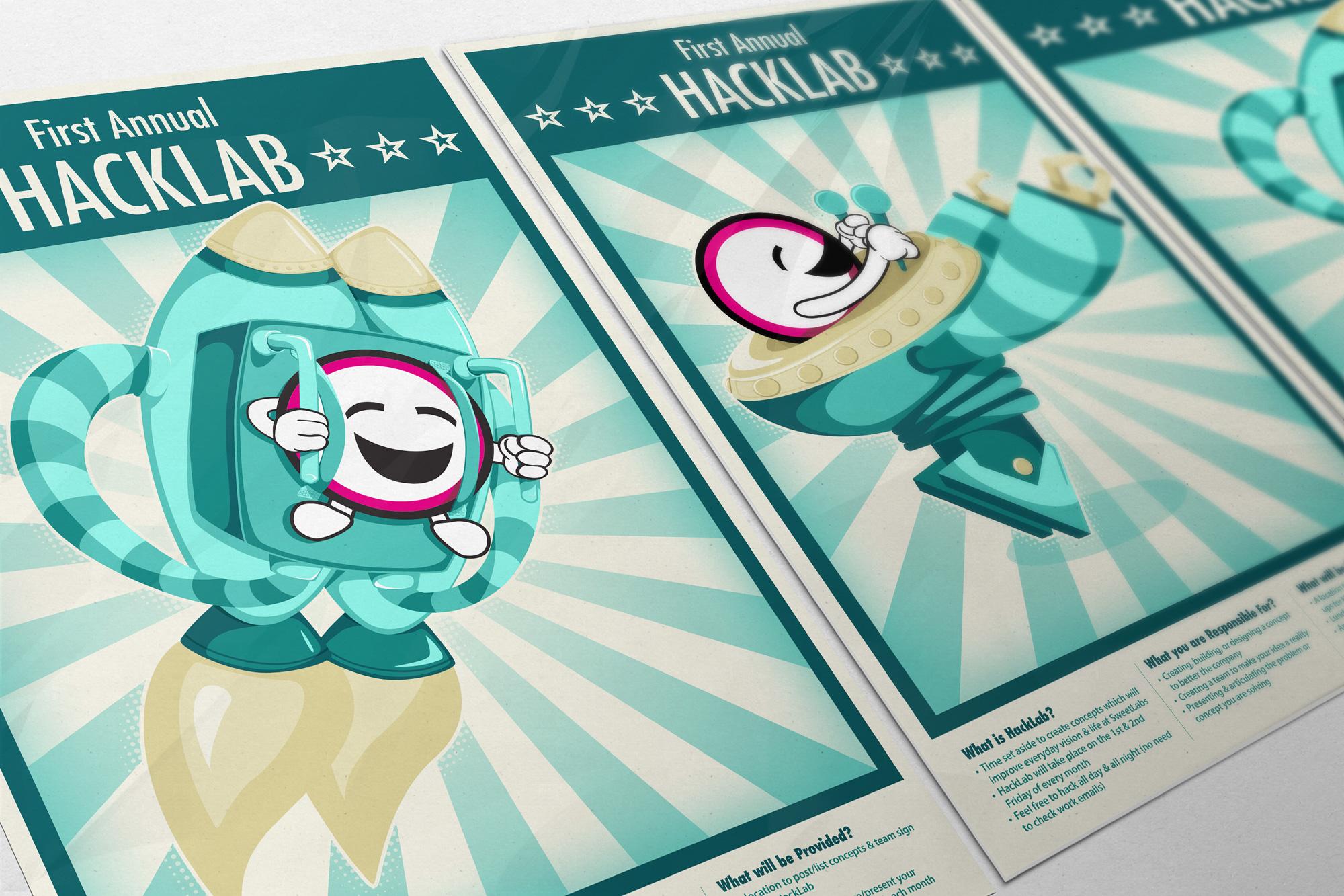Hacklab Posters