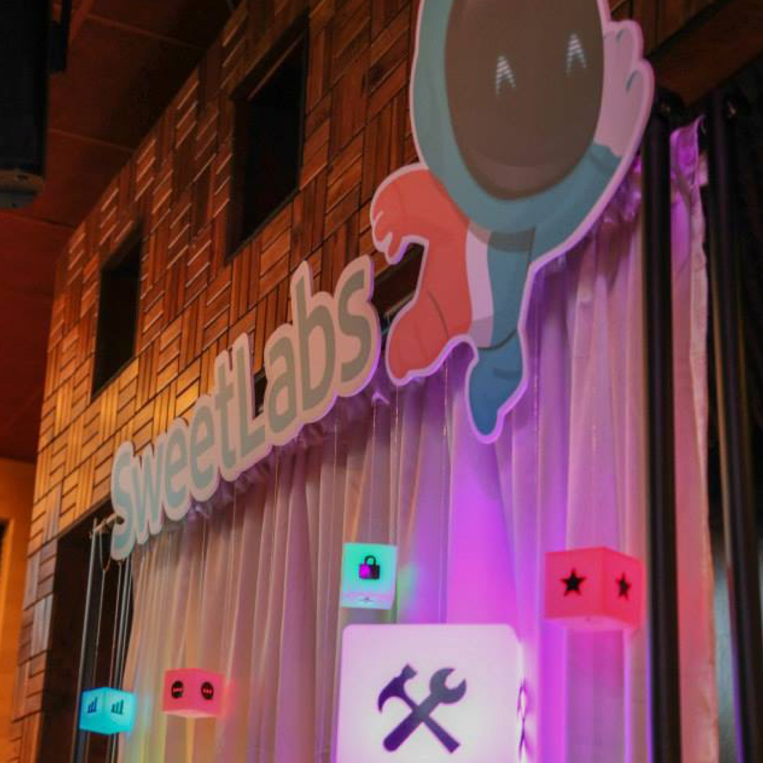 LED App Booth Sign
