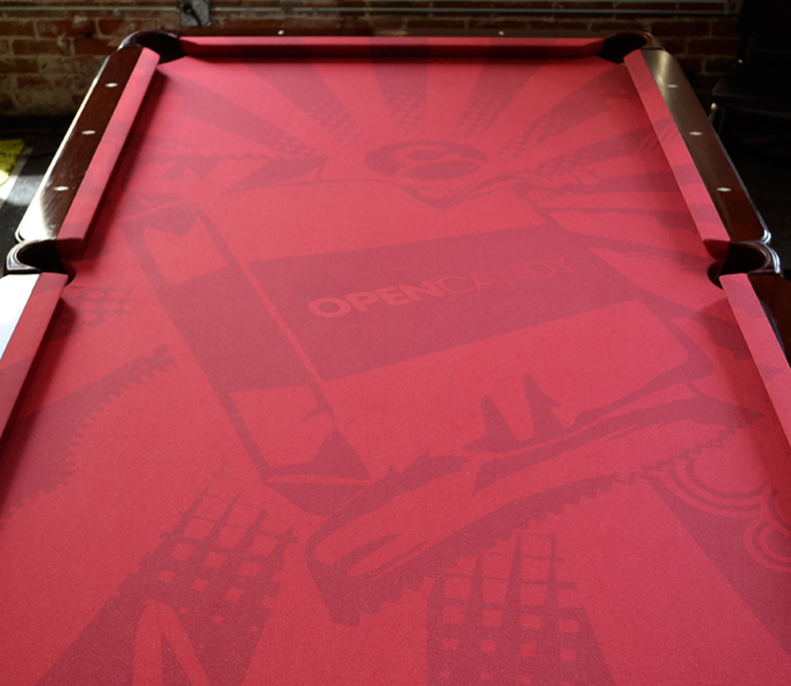 OpenCandy Pool Table