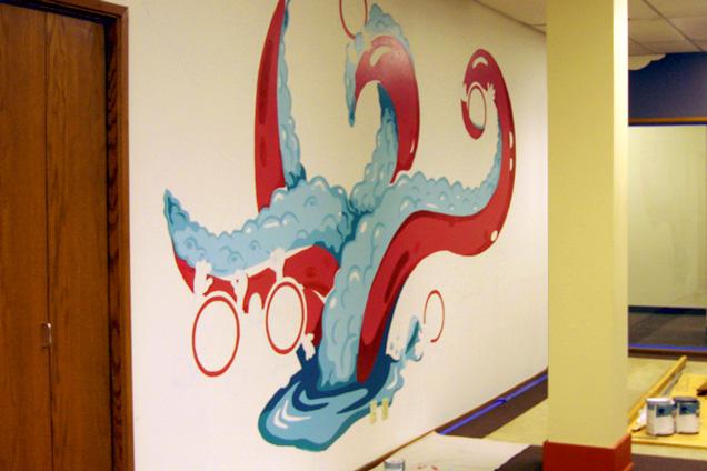Pandora's Beaker Mural