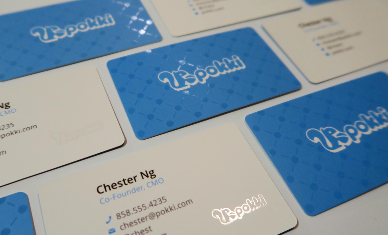 Pokki Business Cards