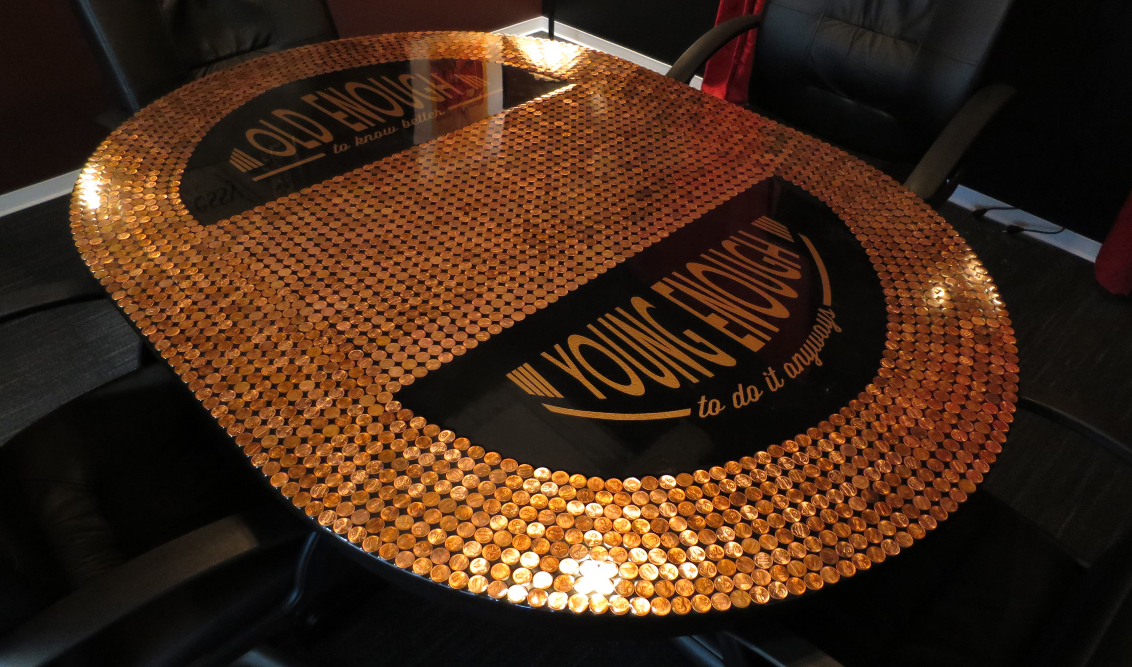 Speakeasy Penny Table
