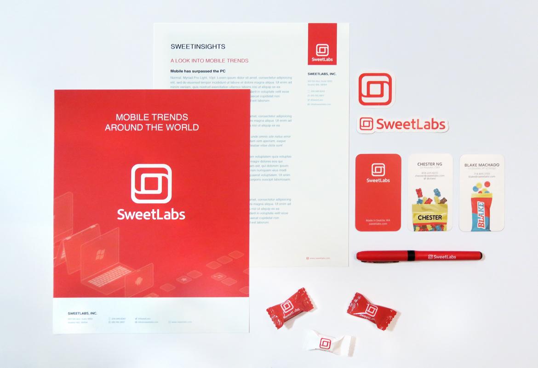 SweetLabs Branding Stationary