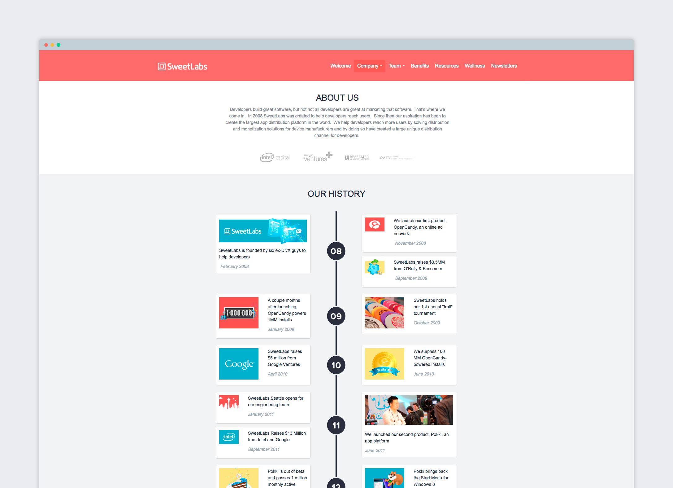 Employee Portal About